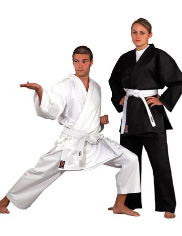 ADVANCE Medium Weight Karate Uniform #1002-White #1101-Black
