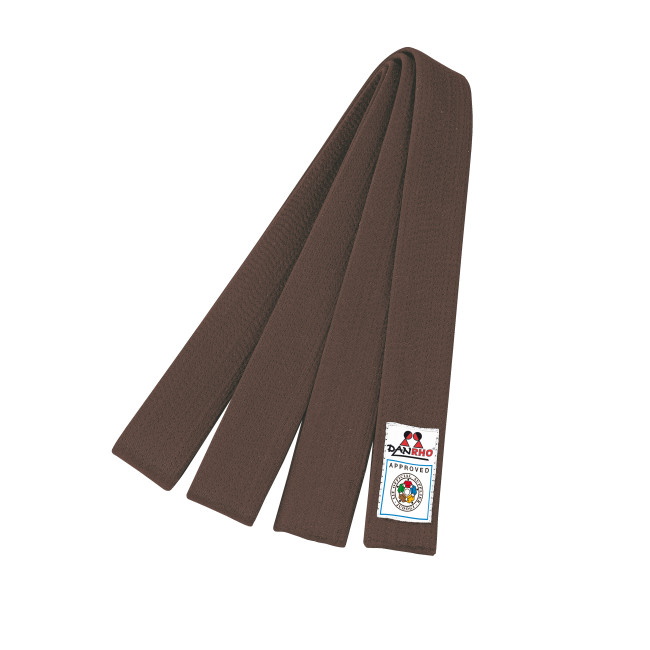 martial arts supplies kwon equipment danrho ijf brown