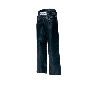 ECONOMY Satin Pants; black #2047