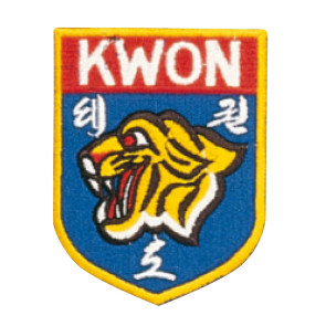Patch KWON TIGER HEAD #5007028