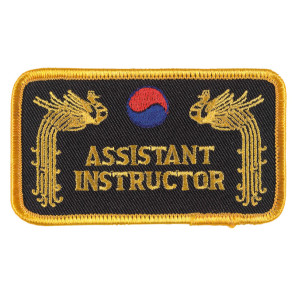 Patch ASSISTANT INSTRUCTOR #336040071