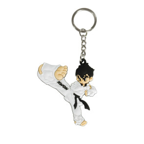 Taekwondo Kick Key Chain #5004030