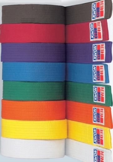 CLUBLINE Solid Color Belts
