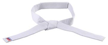 White No Tie Belt