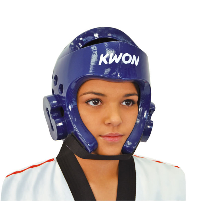 Details about  /New Blue Karate Head Guard Boxing Head Guard Blue