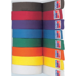 CLUBLINE Belts White-#53001 Yellow-#53002 Orange-#53003 Green-#53004 Blue-#53005 Brown-#53006 Red-#53007 Purple-#53008