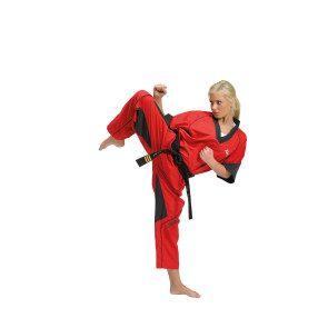 AMERICA Fight Uniform; red/black #1621