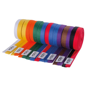 Half/Half Colored Belts