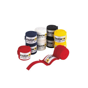 No.1 Hand Wraps #4053150-Red; #4053250-Blue; #4053350-White; #4053550-Black; #4053650-Yellow