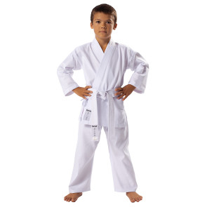 Basic White Karate Front