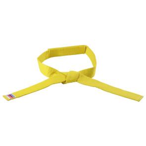 Yellow No Tie Belt