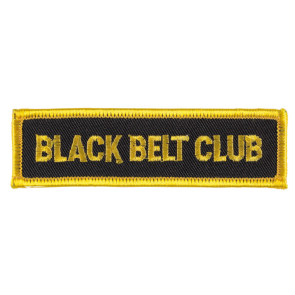 Patch BLACK BELT CLUB #336040066